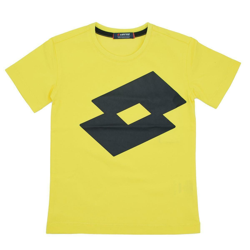lotto lotto t-shirt bambino giallo ltss67