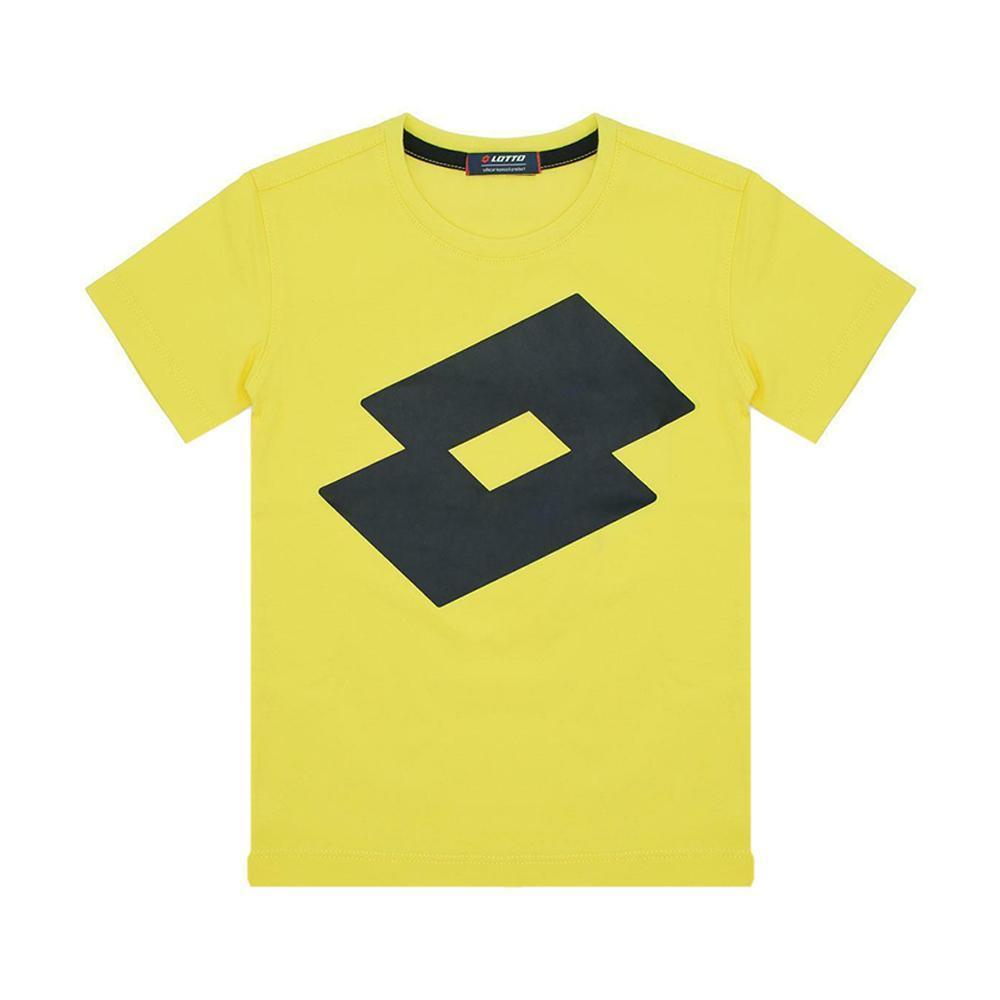lotto lotto t-shirt bambino giallo ltbss67