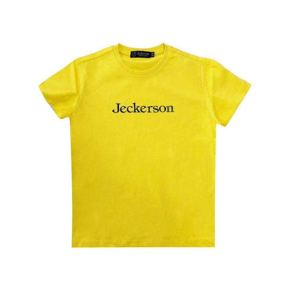jeckerson jeckerson t-shirt bambino giallo jb1668