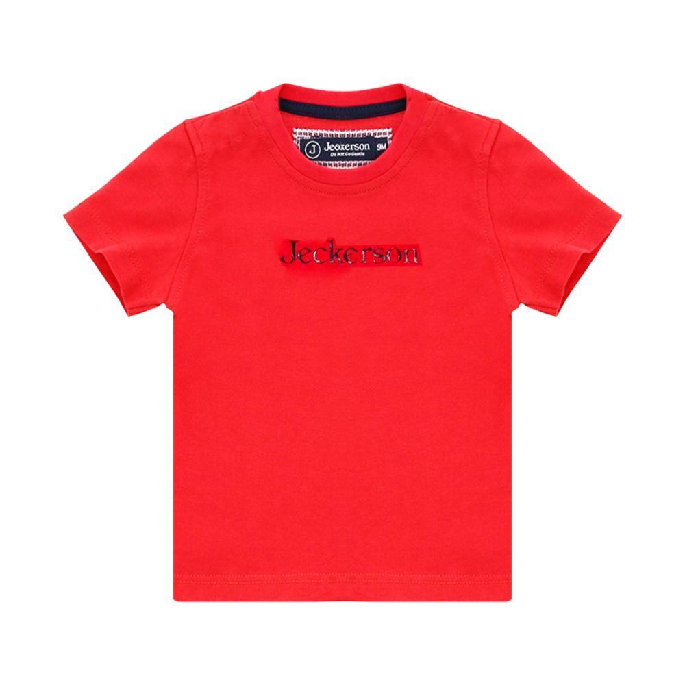 jeckerson jeckerson t-shirt bambino rosso  jb1668