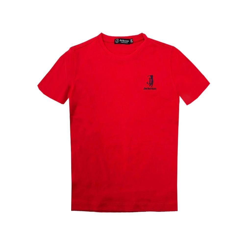 jeckerson jeckerson t-shirt bambino rosso jb1669