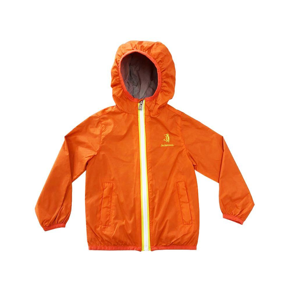 jeckerson jeckerson giubbotto junior arancio giallo j1714