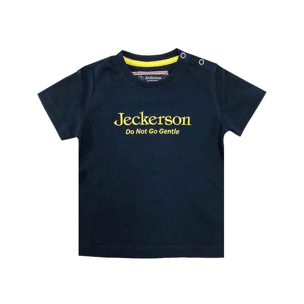 jeckerson jeckerson t-shirt neonato blu giallo jn1884