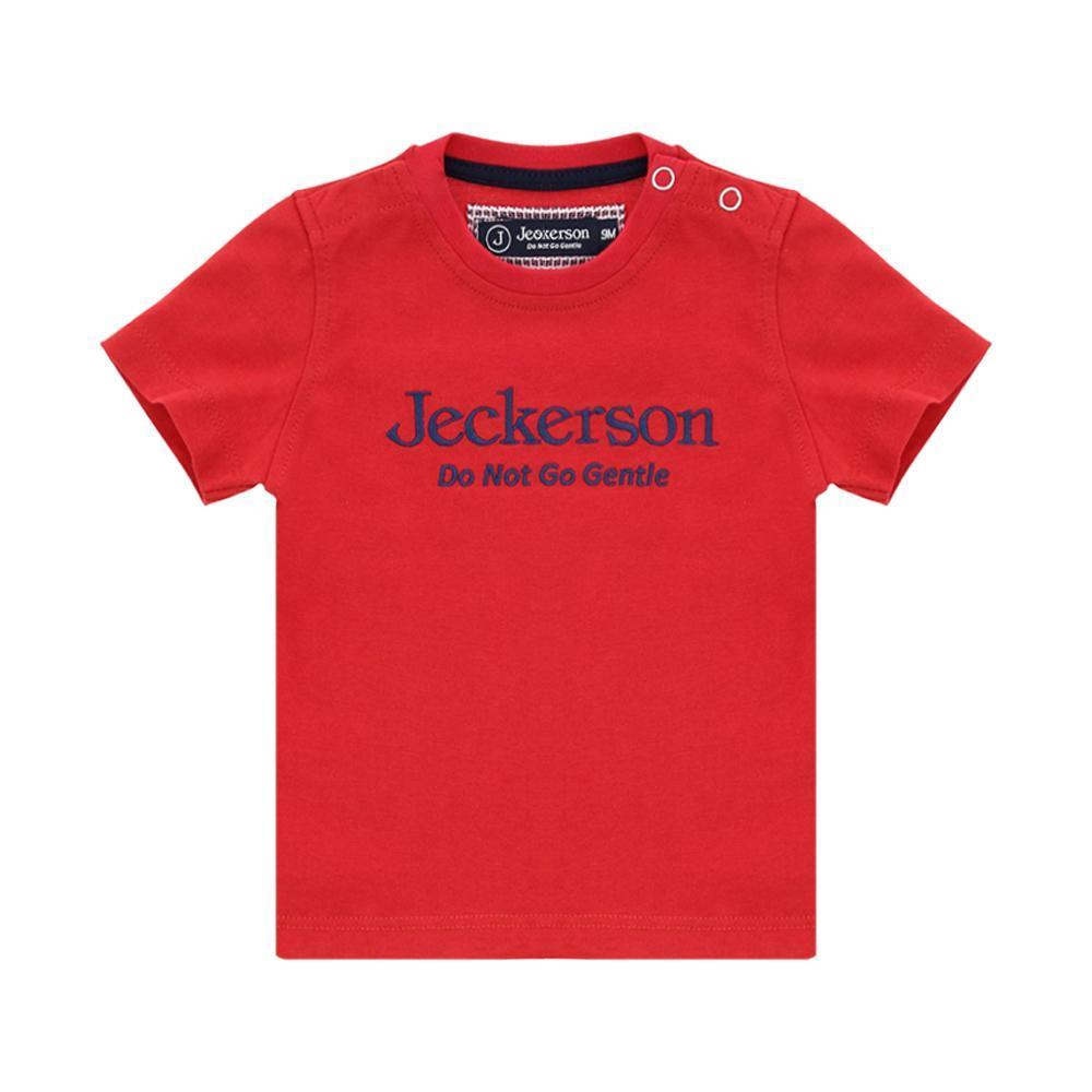 jeckerson jeckerson t-shirt neonato rosso blu jn1884