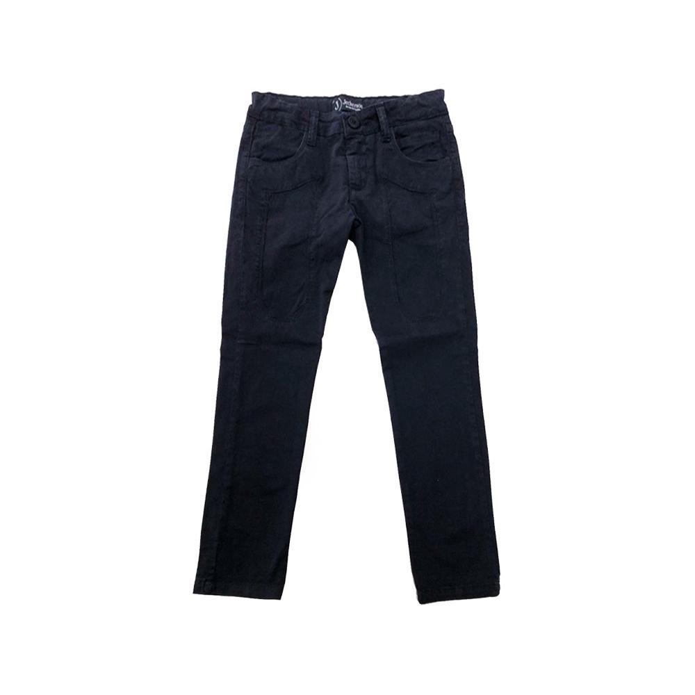 jeckerson jeckerson pantalone bambino blu jb1659