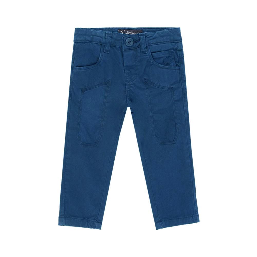 jeckerson jeckerson pantalone bambino blu royal jb1659