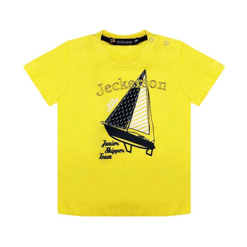 jeckerson jeckerson t-shirt neonato giallo jn1806