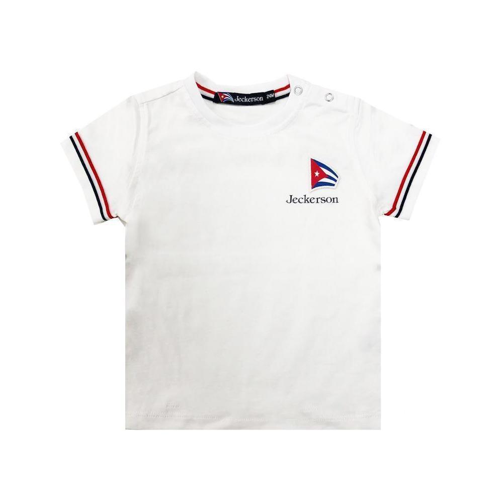 jeckerson jeckerson t-shirt neonato bianco jn1831