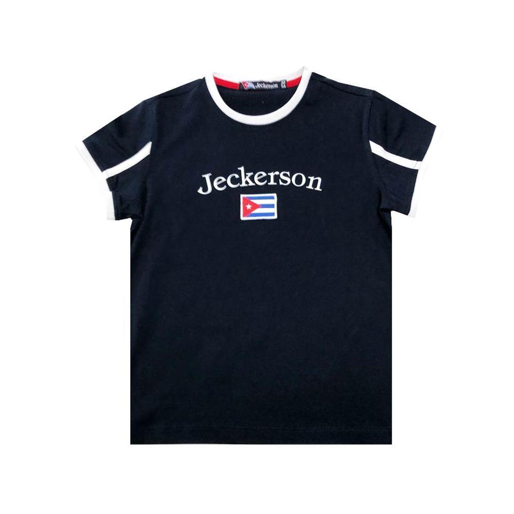 jeckerson jeckerson t-shirt bambino blu jb1628