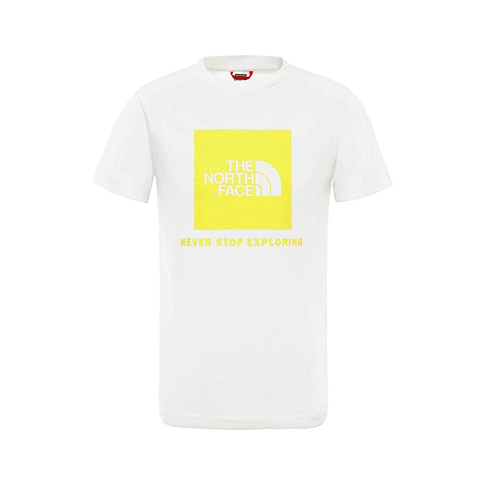 the north face the north face t-shirt junior bianca nf0a3bs2