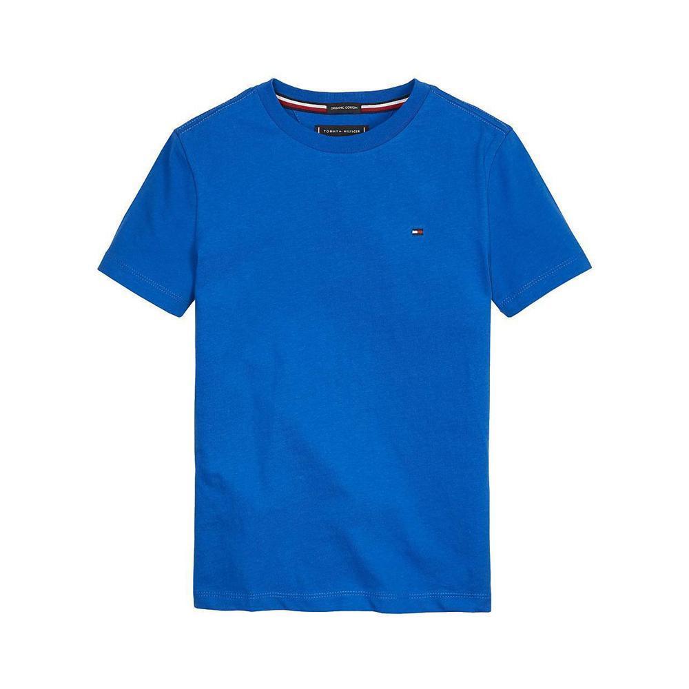 tommy hilfiger tommy hilfiger t-shirt bambino blu royal kb0kb054371