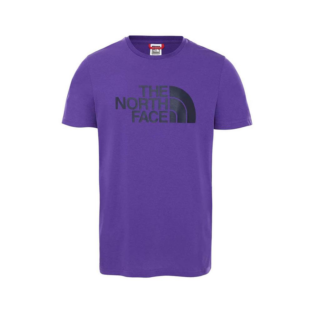 the north face t-shirt the north face uomo viola nf0a2tx3