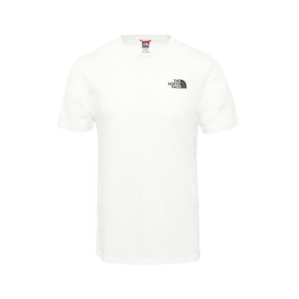 the north face the north face t-shirt uomo bianco nf0a2tx5