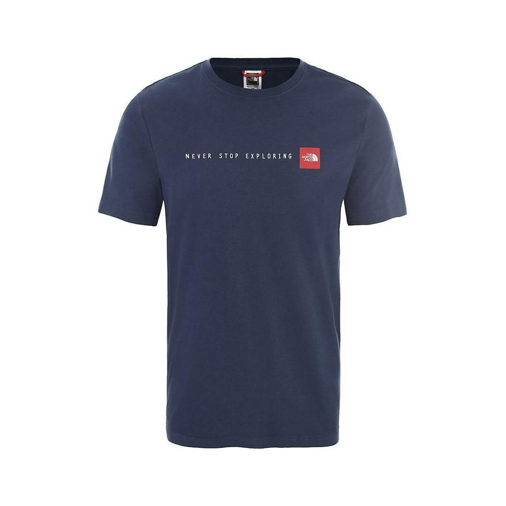 the north face the north face t-shirt uomo blu nf0a2tx4