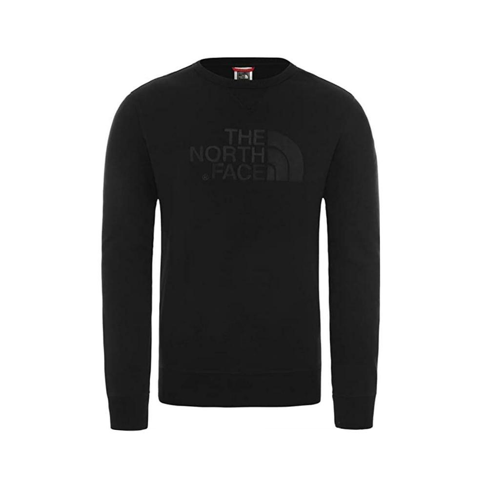 the north face the north face felpa girocollo uomo nero nf0a3rxv