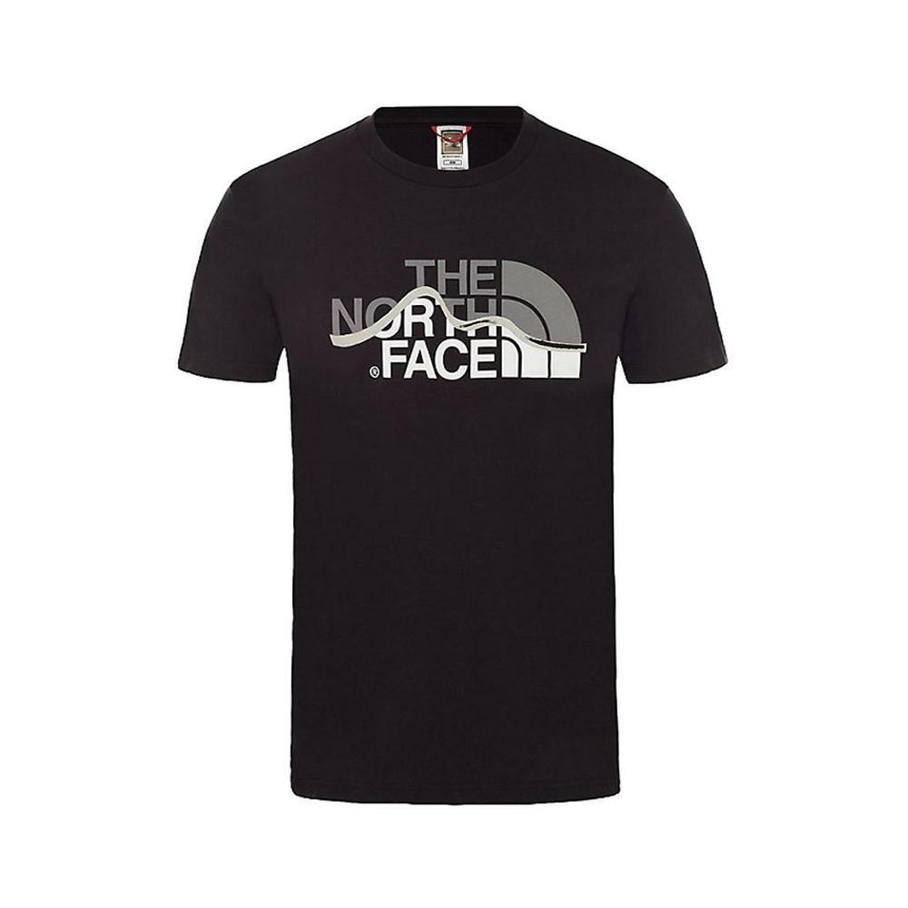the north face the north face t-shirt uomo nero nf00a3g2