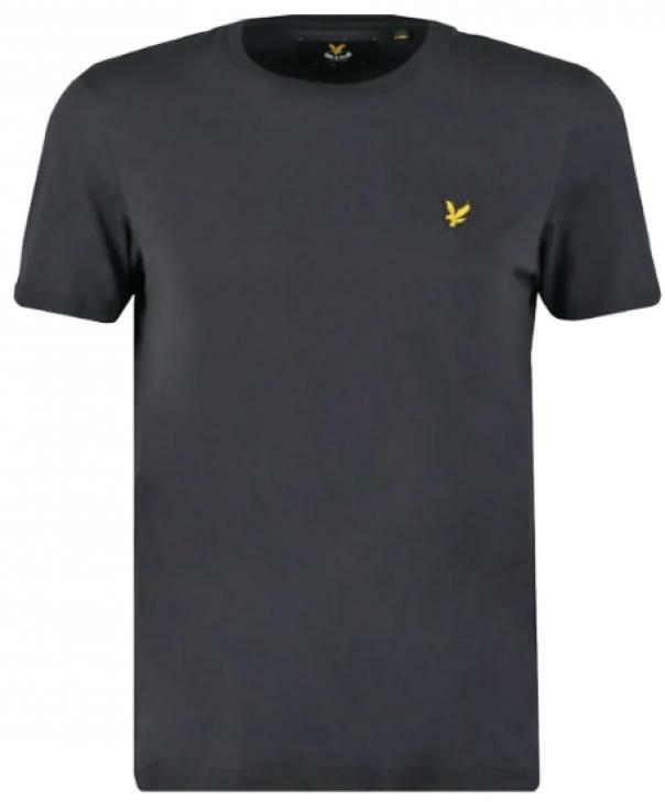 lyle&scott lyle&scott t-shirt bambino nero lsc0003s