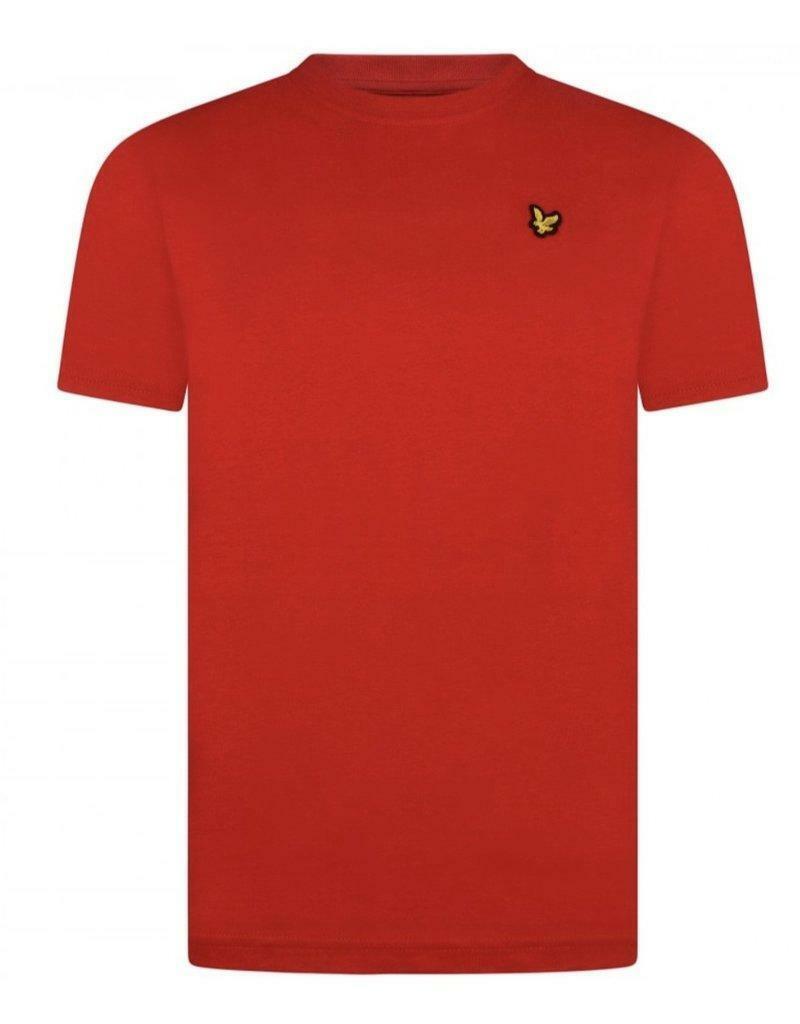 lyle&scott lyle&scott t-shirt junior rosso lsc0003s1