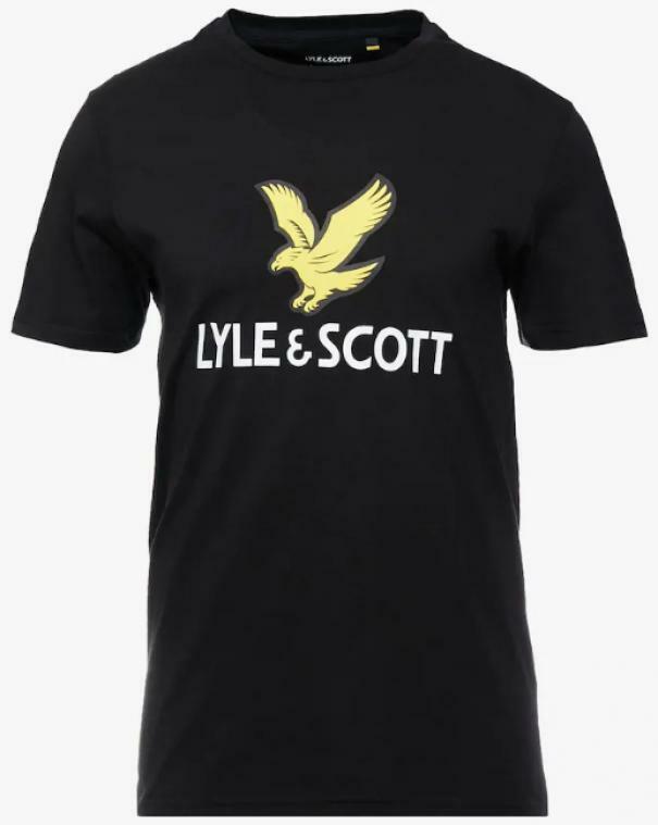 lyle&scott lyle&scott t-shirt bambino nero lsc0815