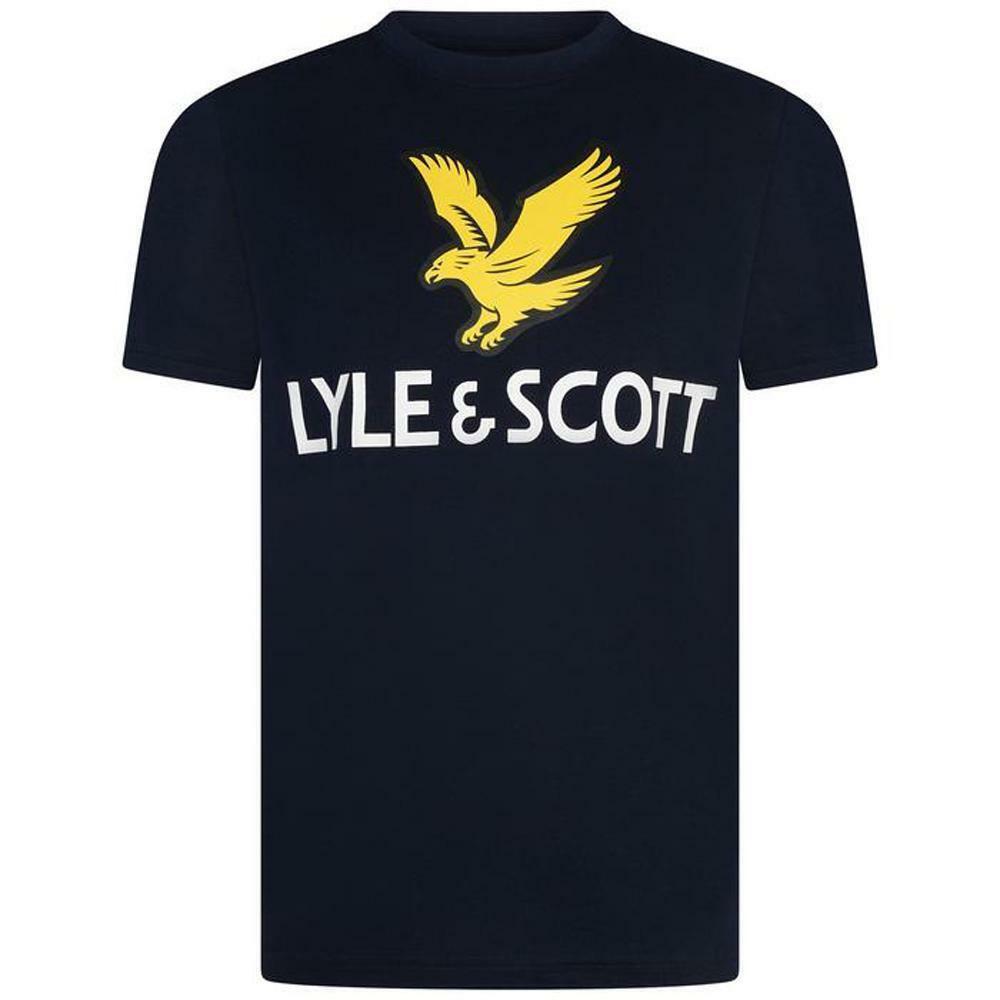 lyle&scott lyle&scott t-shirt bambino blu lsc0815