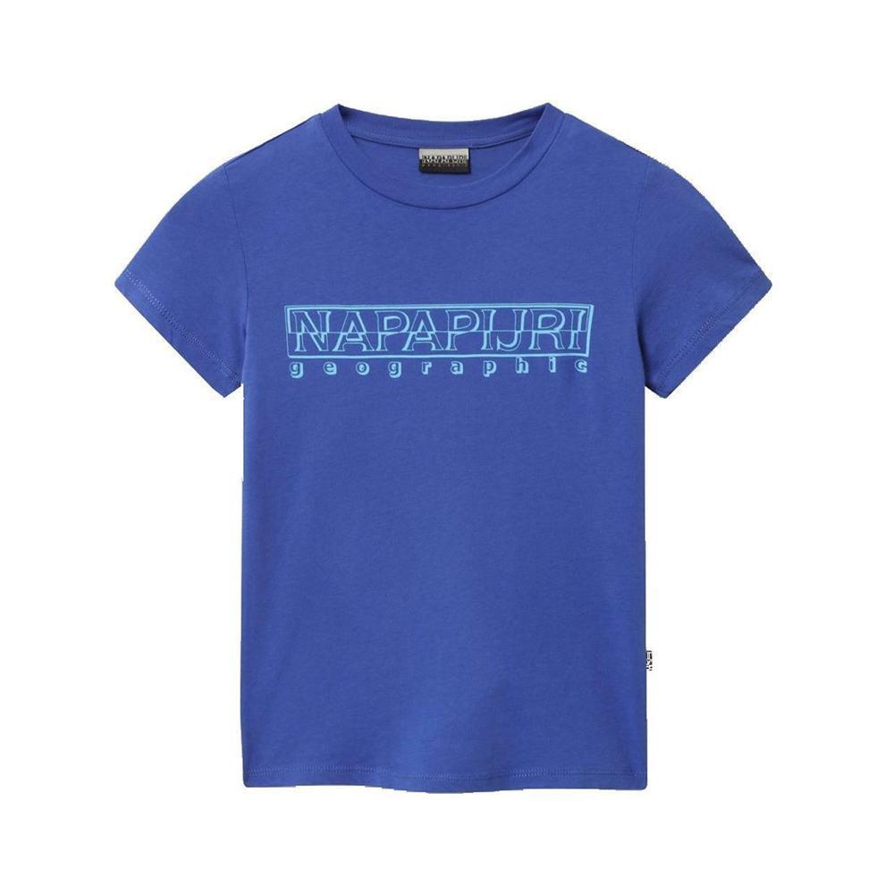 napapijri napapijri t-shirt junior blu royal np0a4eg51