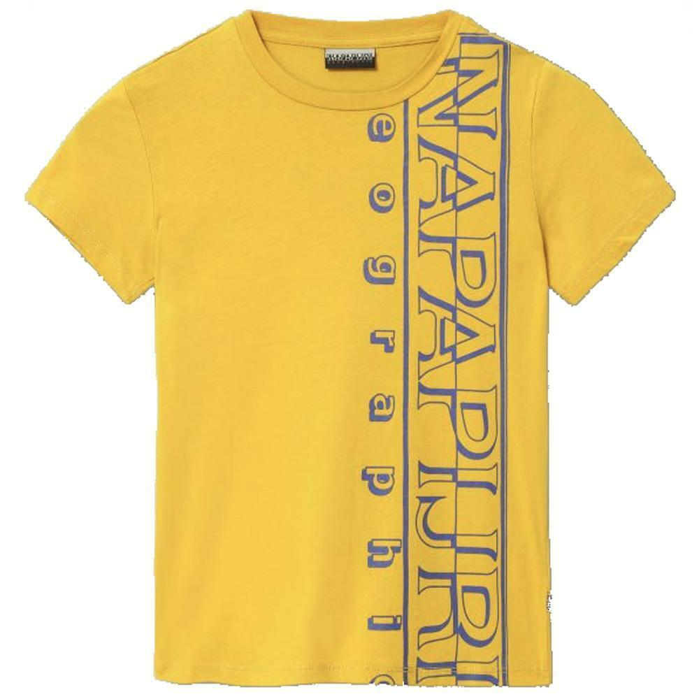 napapijri napapijri t-shirt junior giallo np0a4e53