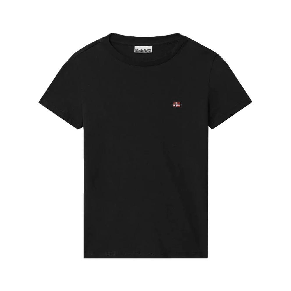 napapijri napapijri t-shirt junior nero np0a4ev21