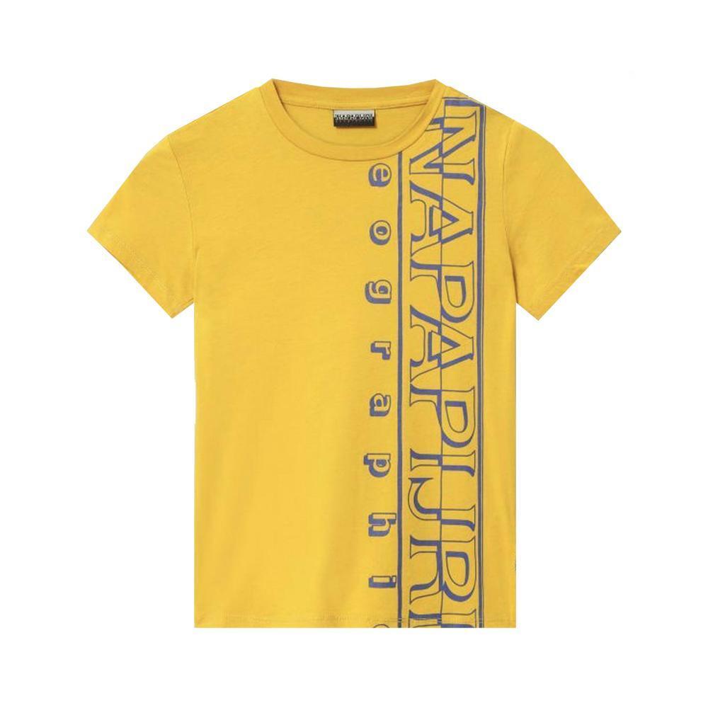 napapijri napapijri t-shirt bambino giallo np0a4e53