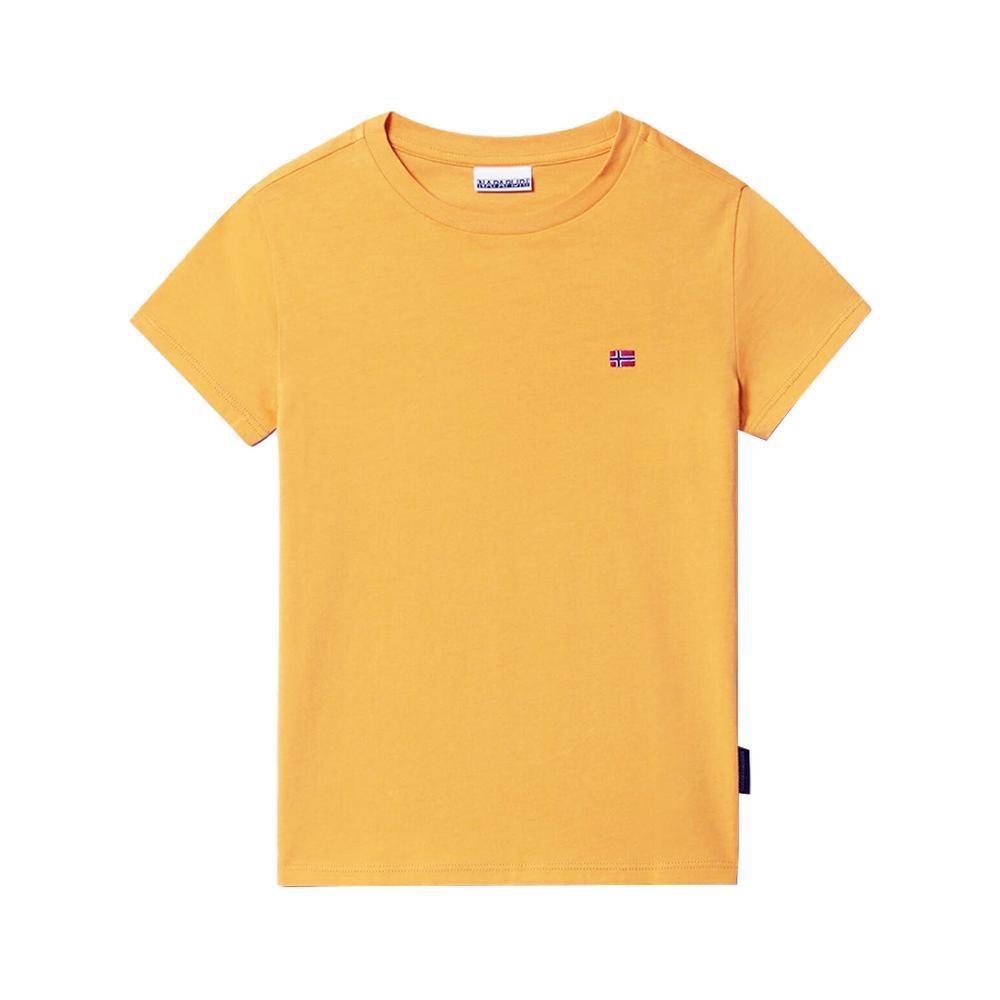 napapijri napapijri t-shirt bambino giallo np0a4ev2