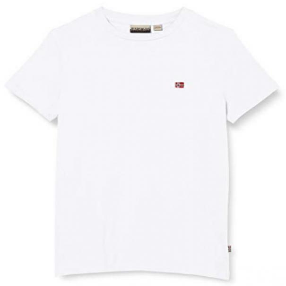 napapijri napapijri t-shirt bambino bianco np0a4ev2