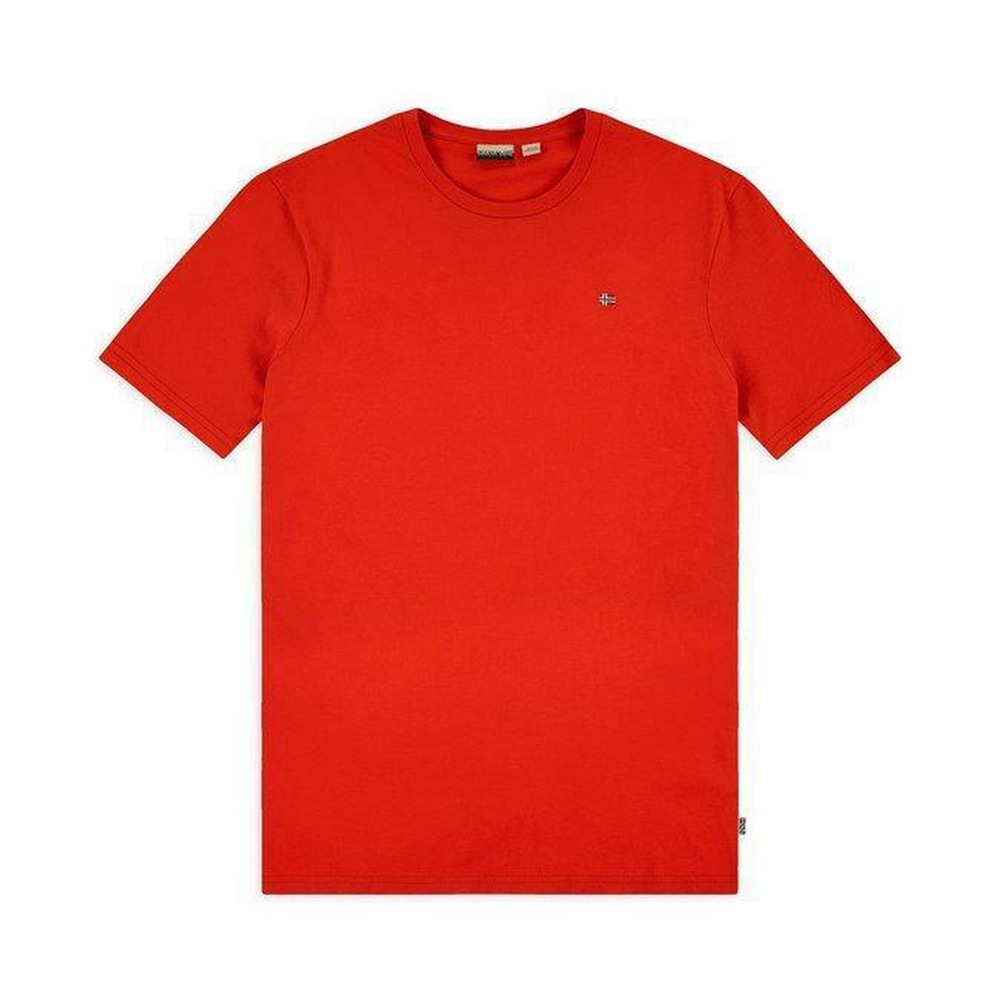 napapijri napapijri t-shirt uomo rosso np0a4egg