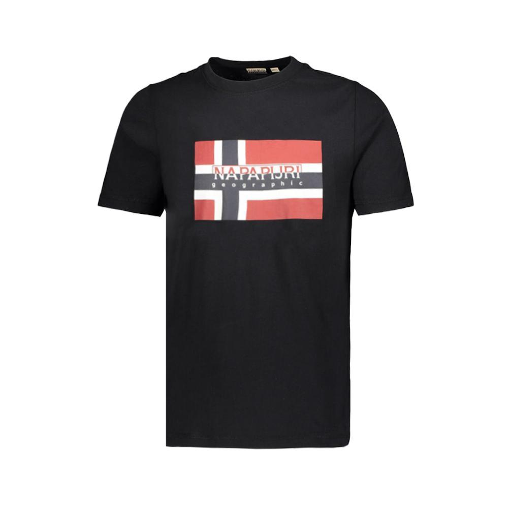 napapijri napapijri t-shirt uomo blu np0a4e38