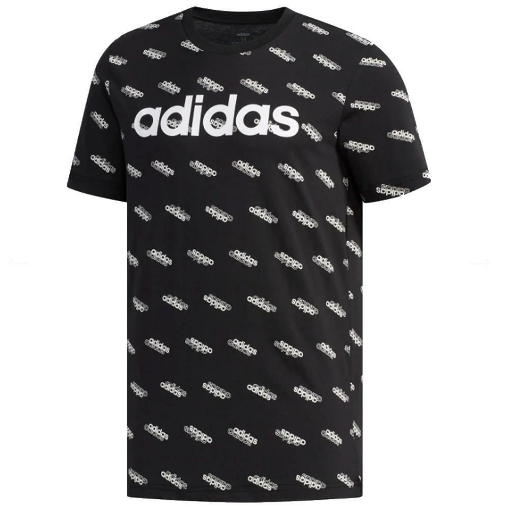 adidas adidas t-shirt uomo nero fm6022