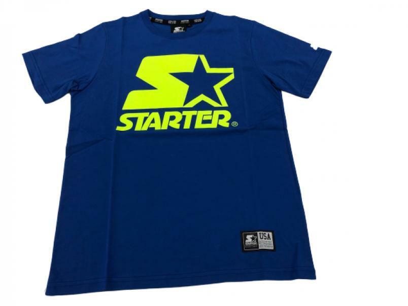 starter starter t-shirt uomo  royal tp9-72402