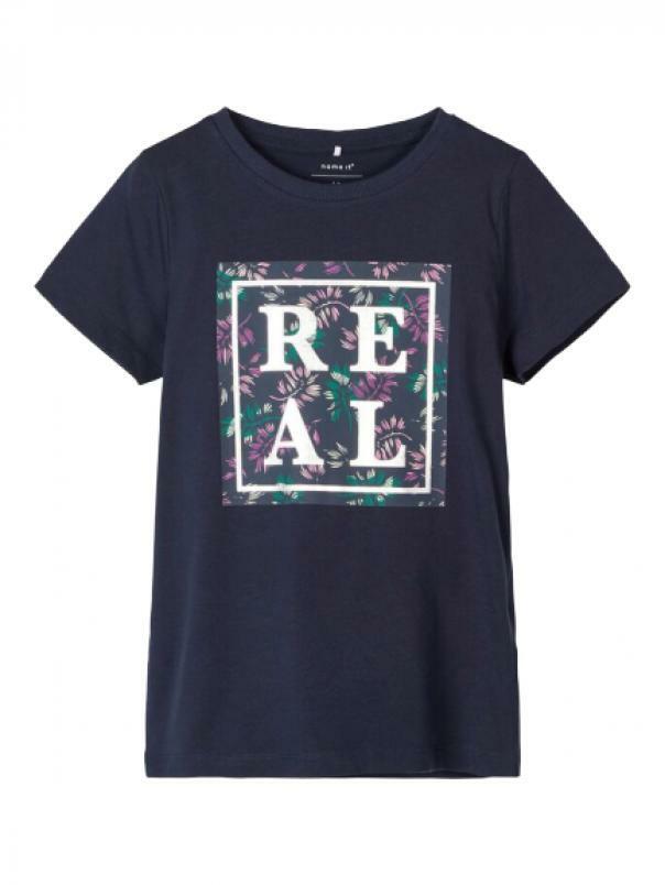 name.it name.it t-shirt bambina blu 13181349