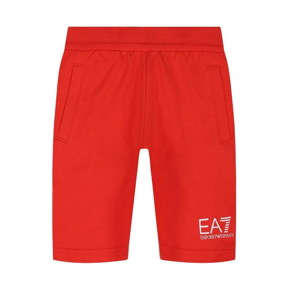 ea7 ea7 bermuda  bambino rosso 3hbs51-bj05z