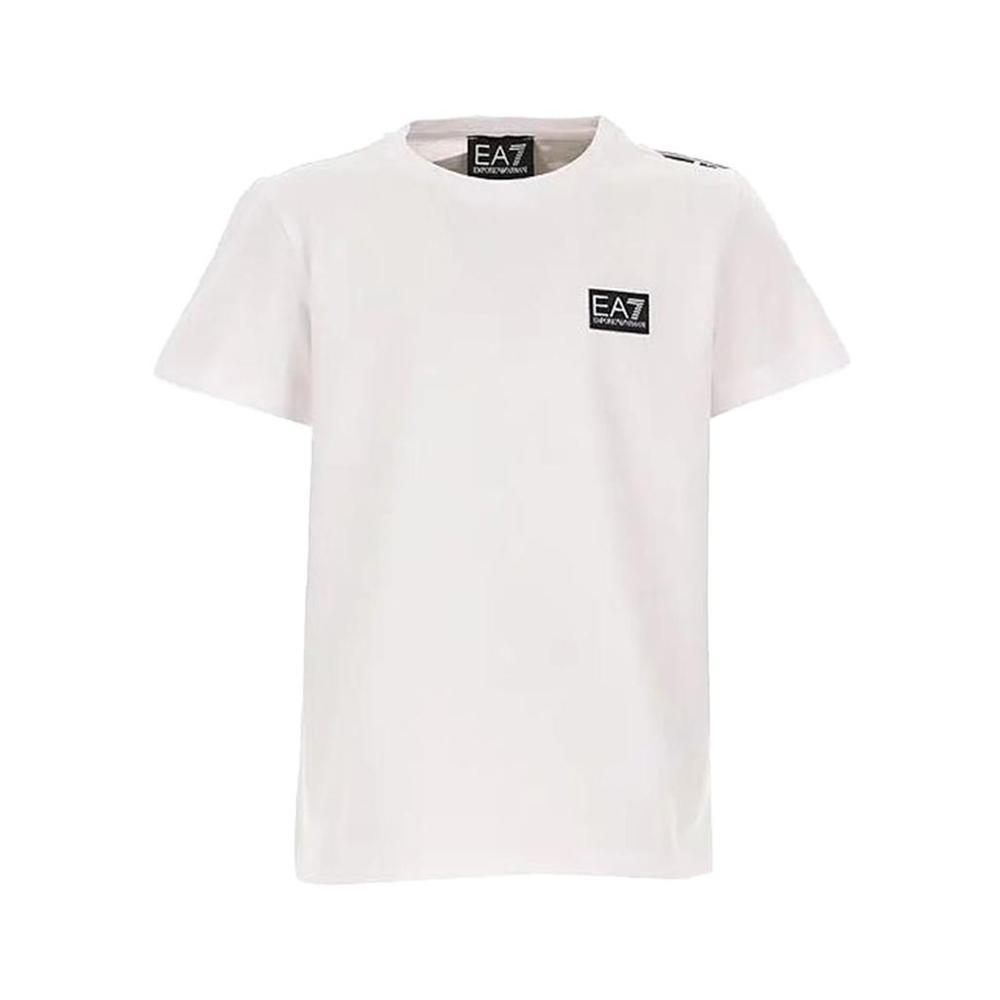 ea7 ea7 t-shirt bambino bianco 3hbt59-bjt3z