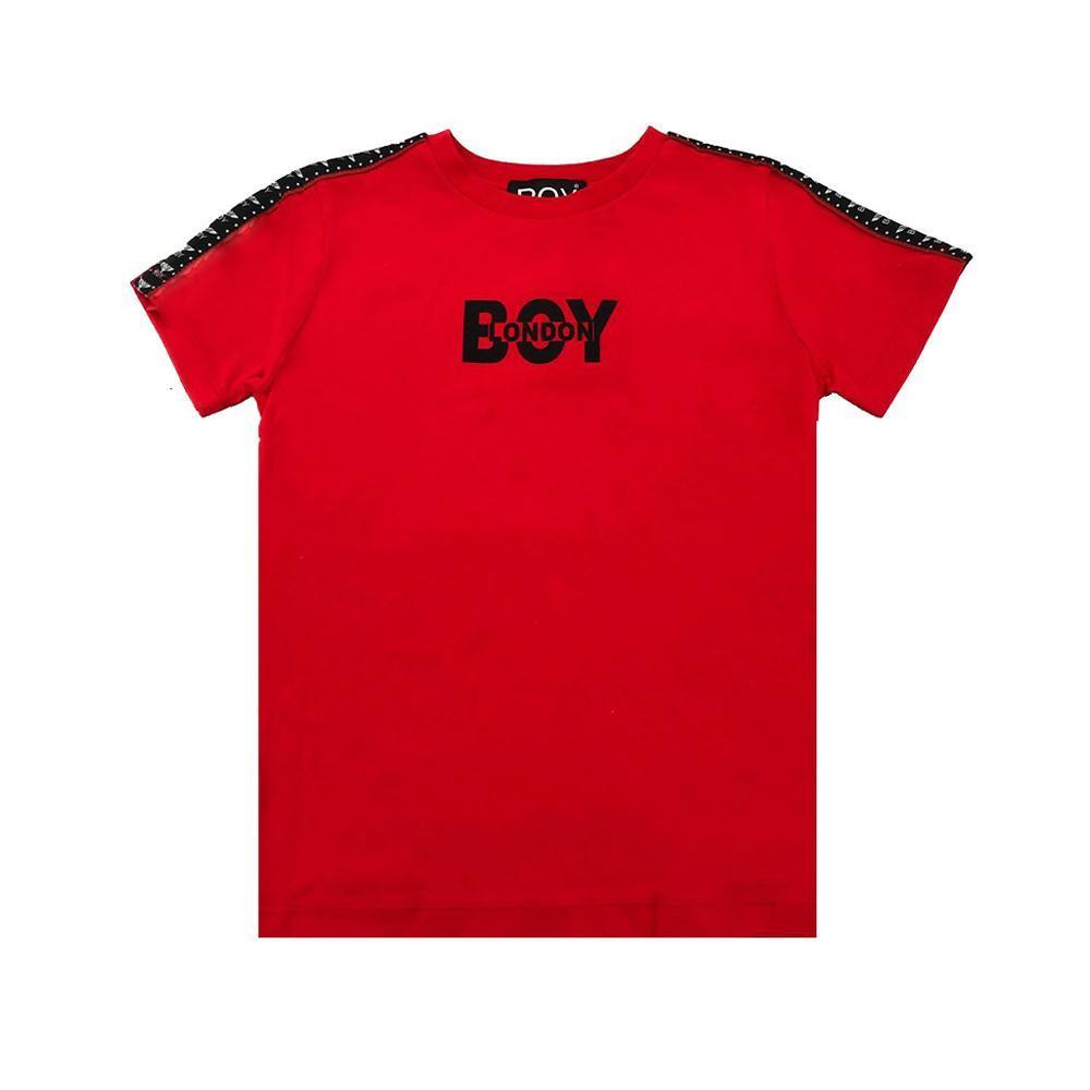 boy london boy london t-shirt ragazzo rosso tsbl2158j