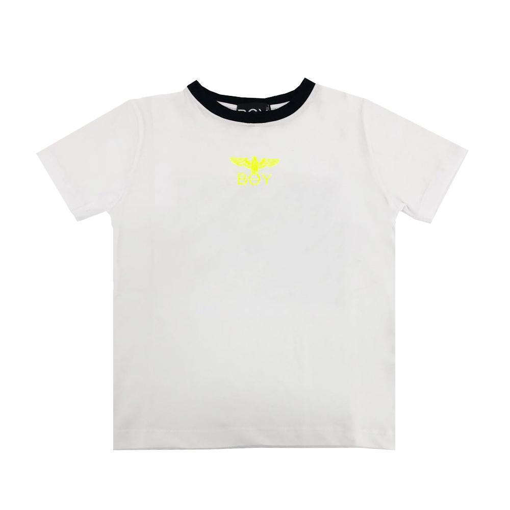 boy london boy london t-shirt ragazzo bianco tsbl2170j