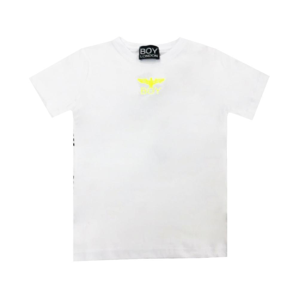 boy london boy london t-shirt ragazzo bianco tsbl2173j