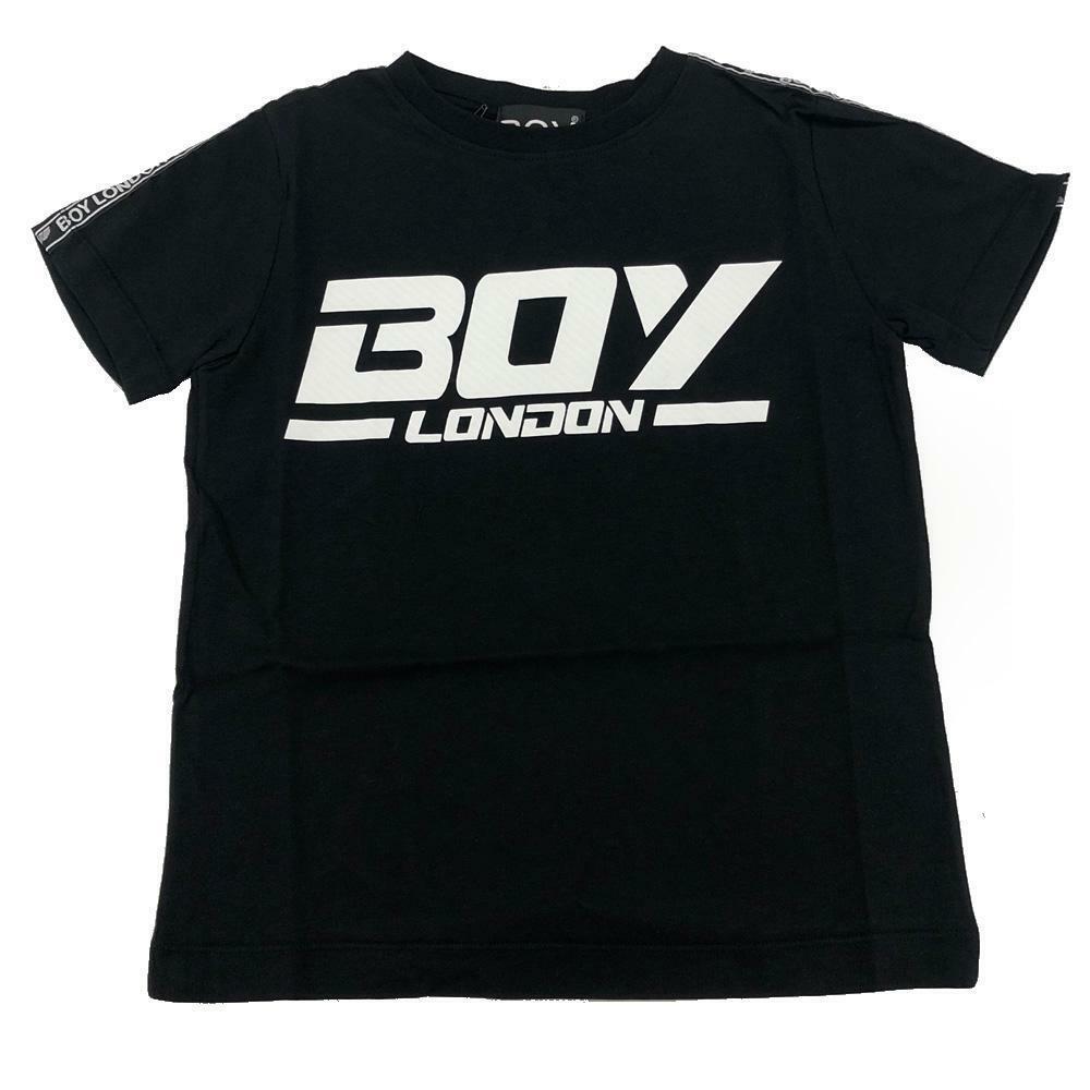 boy london boy london t-shirt ragazzo nero tsbl2154j