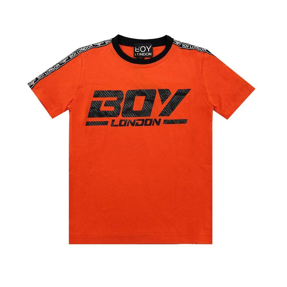 boy london boy london t-shirt ragazzo arancio tsbl2154j