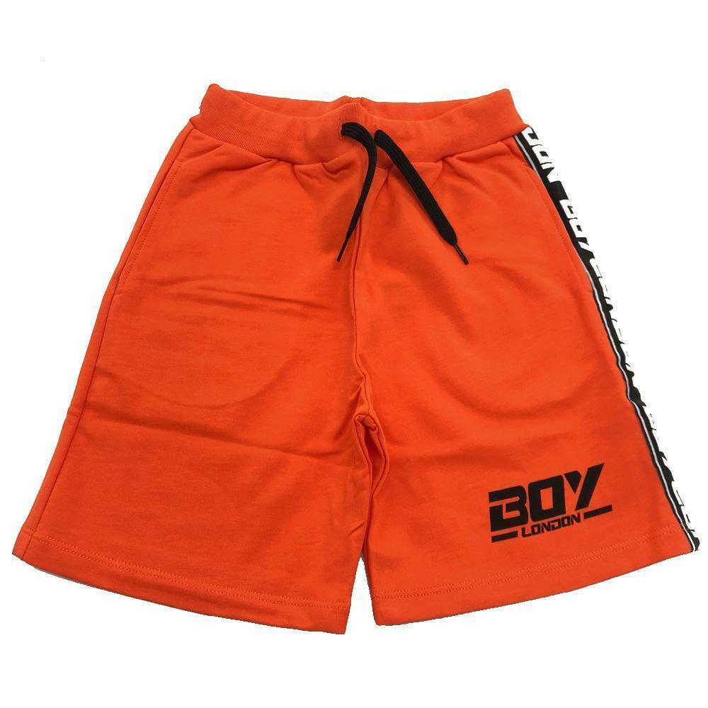 boy london boy london bermuda ragazzo arancio bmbl2152j