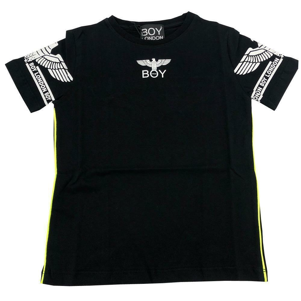 boy london boy london t-shirt ragazzo nero tsbl2174j