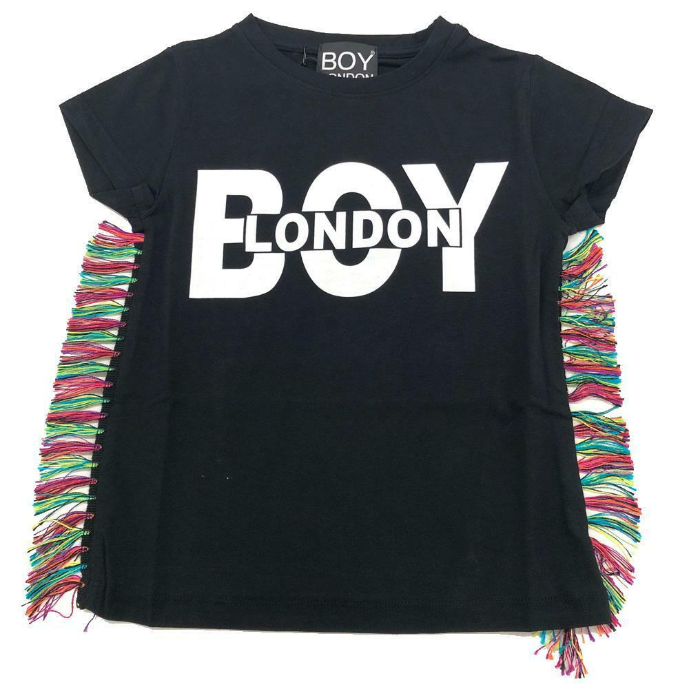 boy london boy london t-shirt ragazza nero tsbl2118j