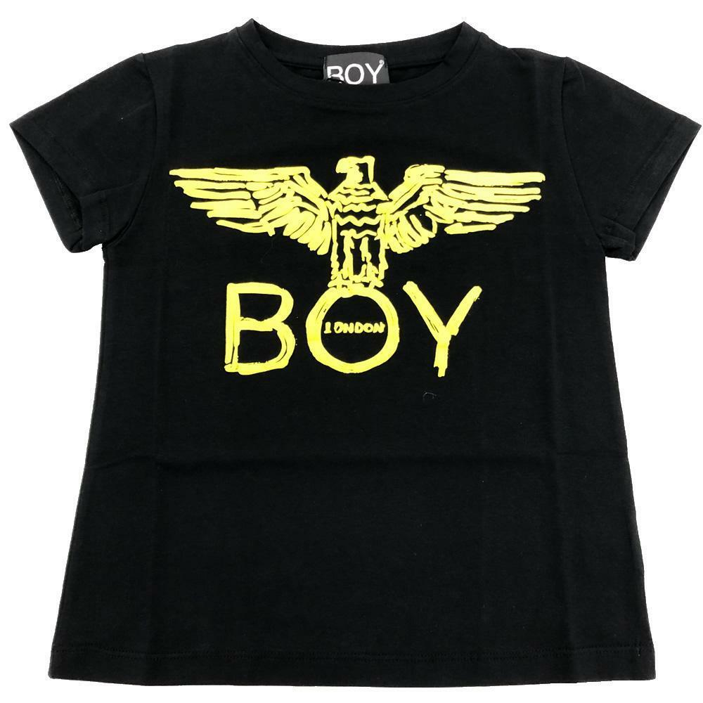 boy london boy london t-shirt ragazzo nero tsbl2101j