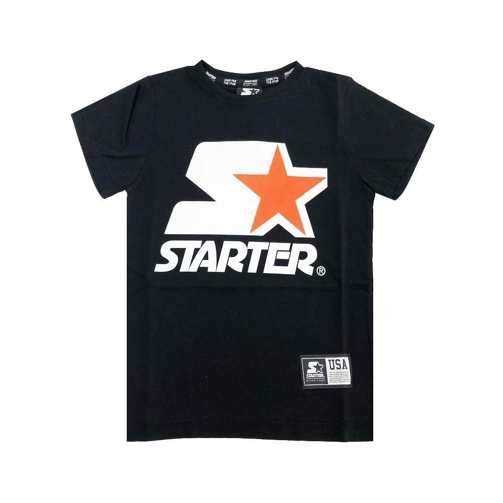 starter starter t-shirt ragazzo nero tsst2104j