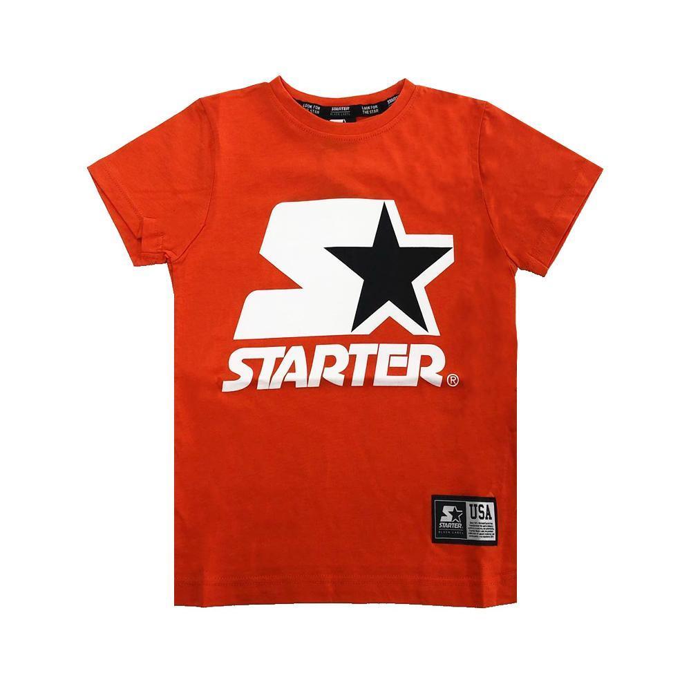 starter starter t-shirt ragazzo arancio tsst2104j
