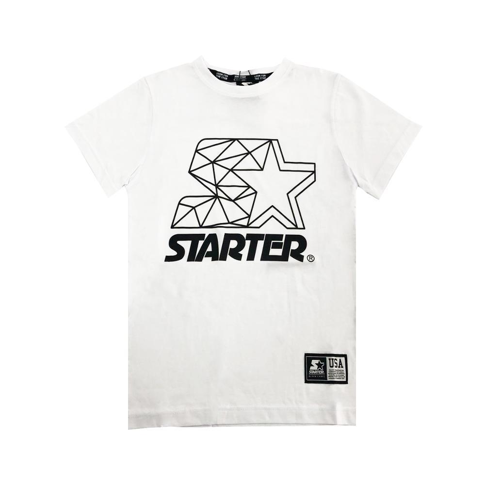 starter starter t-shirt ragazzo bianco tsst2106j