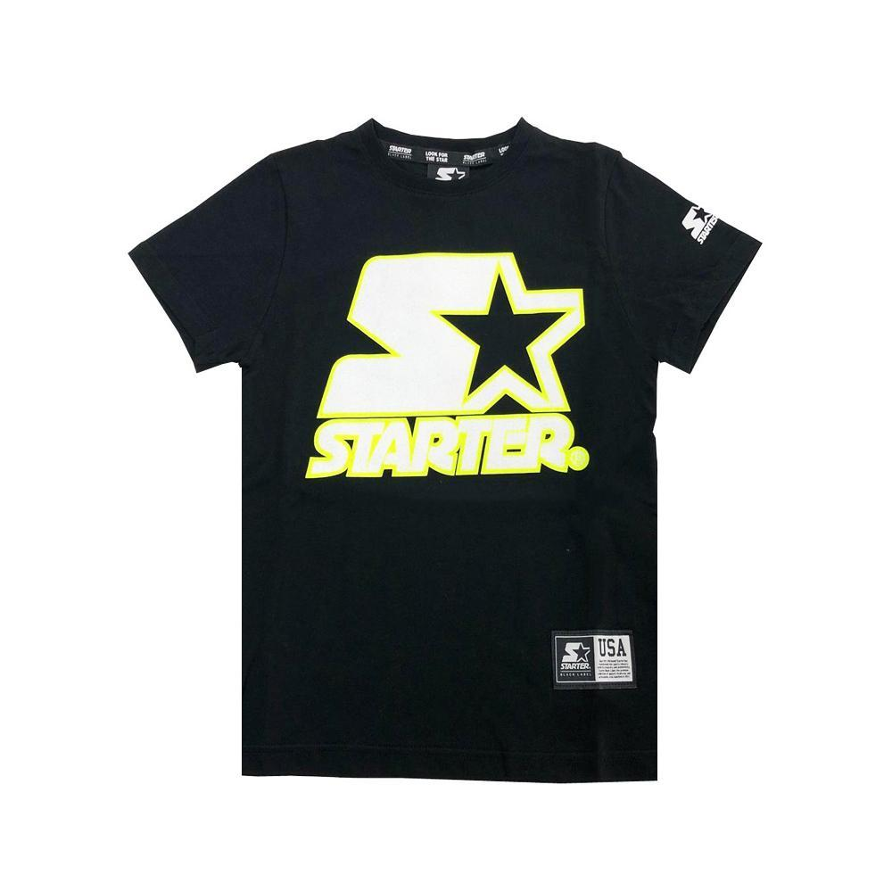 starter starter t-shirt ragazzo nero tsst2110j